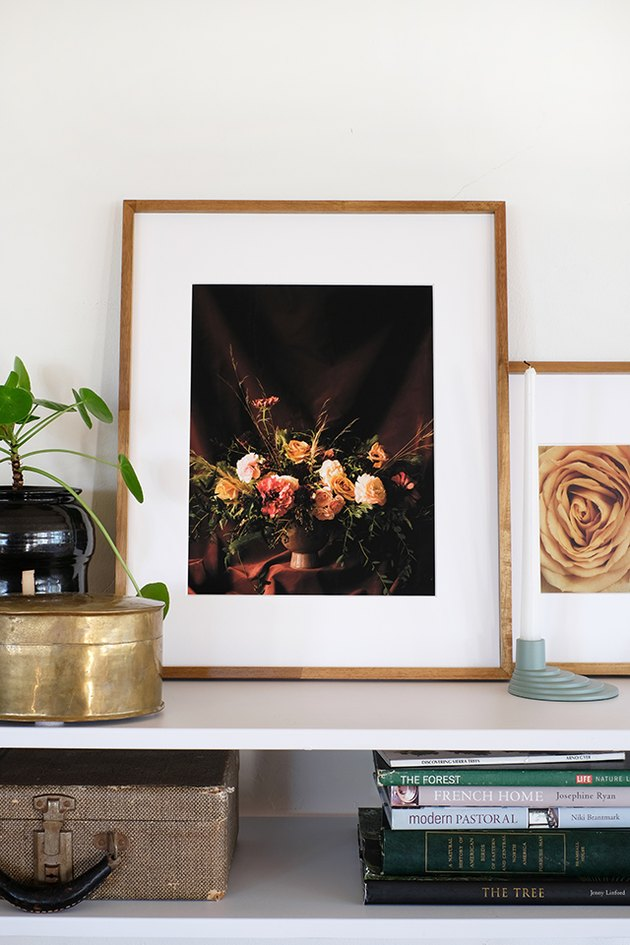 Free printable moody floral art