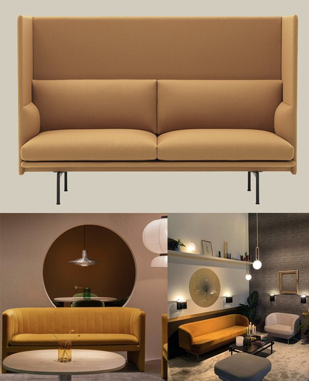 yellow trend sofas