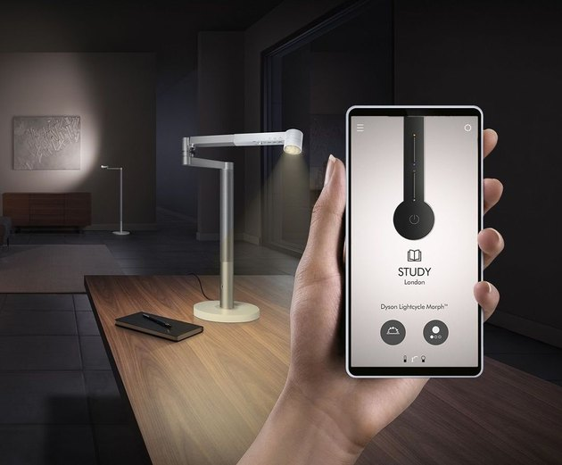 Dyson Lightcycle Morph desk lamp with app