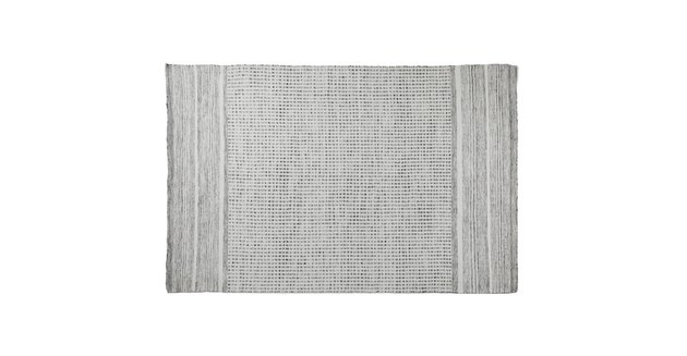 gray patterned rug