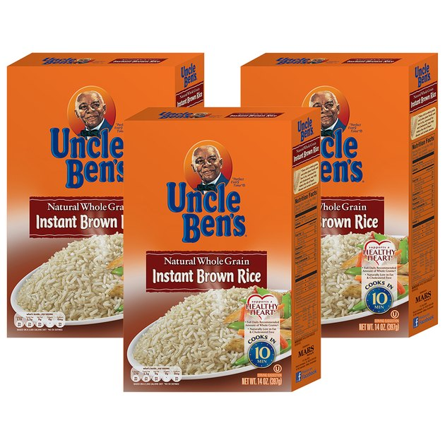 Uncle Ben's Whole Grain Instant Brown Rice (3 pack), $7.15