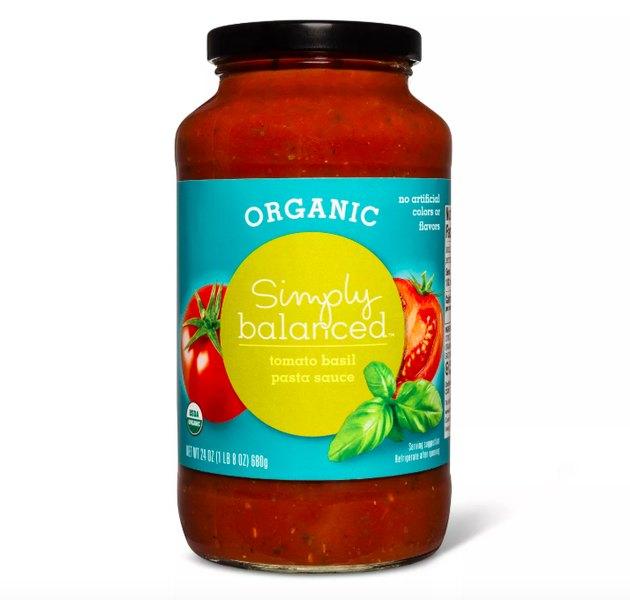 Simply Balanced Organic Tomato Sauce, $2.79
