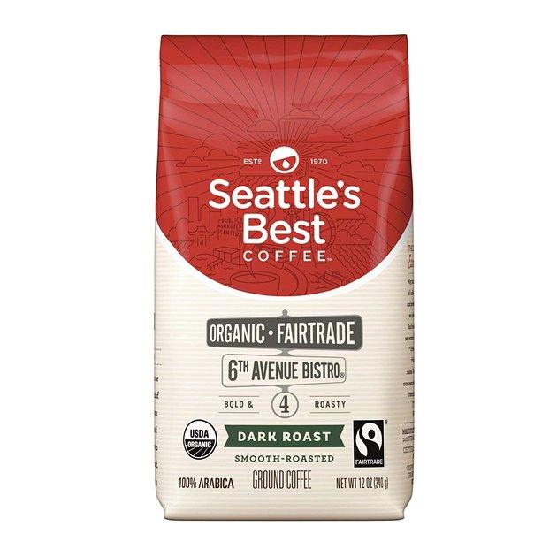 Seattle's Best Dark Roast Coffee, $4.48