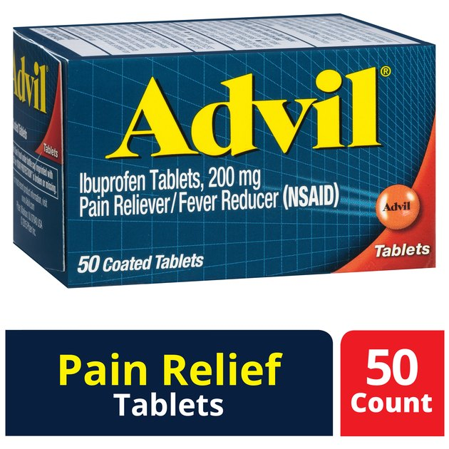 Advil (50 count), $6.28