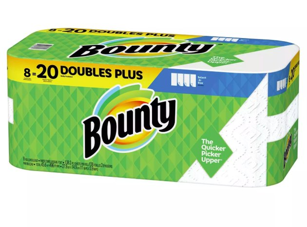 Bounty Select-A-Size Paper Towels White - 8 Doubles Plus Rolls = 20 Regular Rolls, $16.99