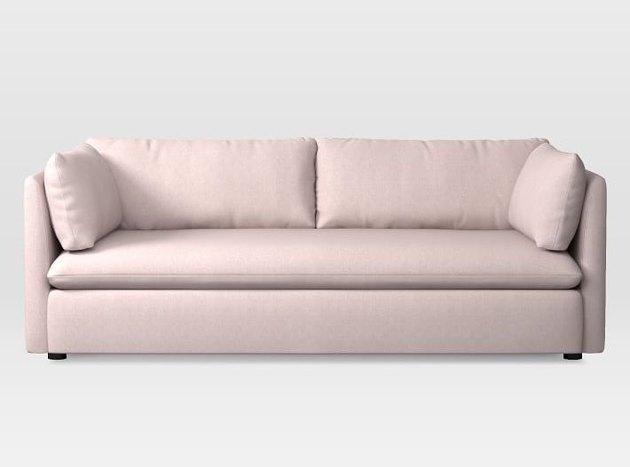 blush queen sleeper sofa