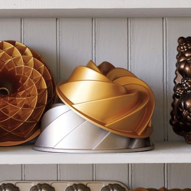 gold bundt pan