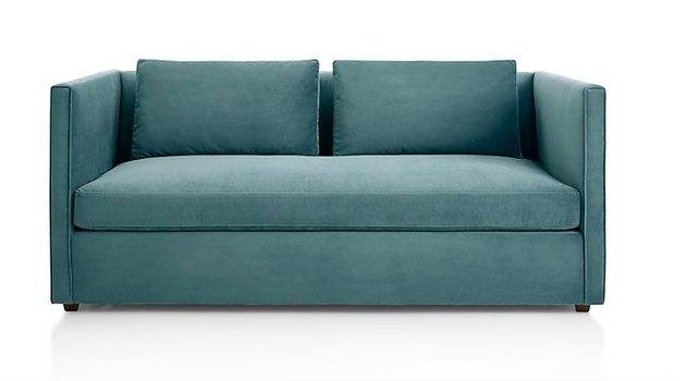 dark turquoise queen sleeper sofa