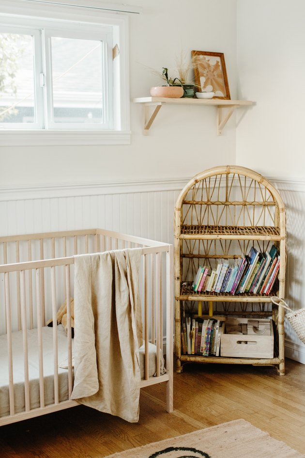 Earthy, natural nursery