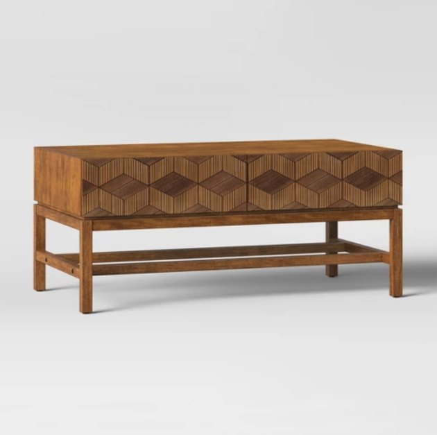 Target Opalhouse Tachuri Geometric Front Coffee Table