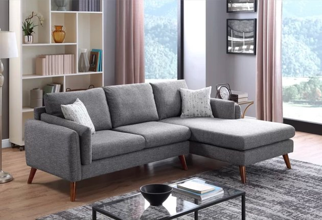 allmodern sectional couch