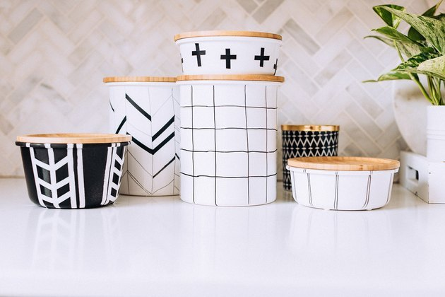 IKEA Hack: From Plain Glass Holders to Scandinavian-Inspired Containers