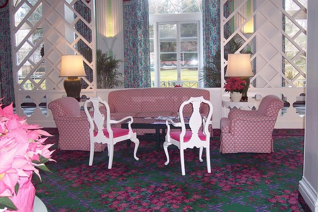 Lounge at the Greenbrier Hotel