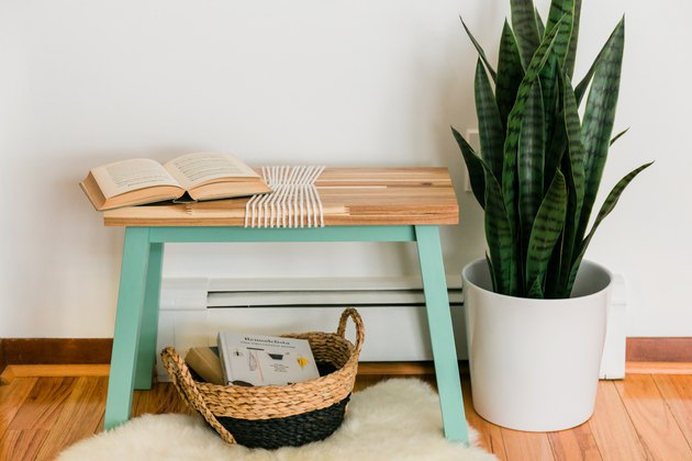 IKEA Hack: From Plain Stool to Colorful Accent Seat