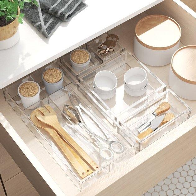 clearn 5-puece drawer organizer set