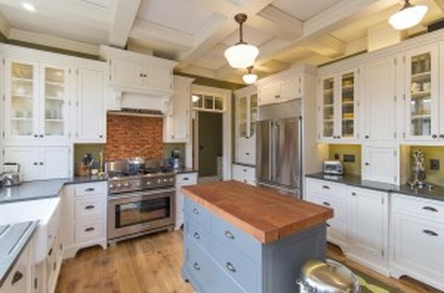 How to Build a Kitchen Island With Stock Cabinets | Hunker