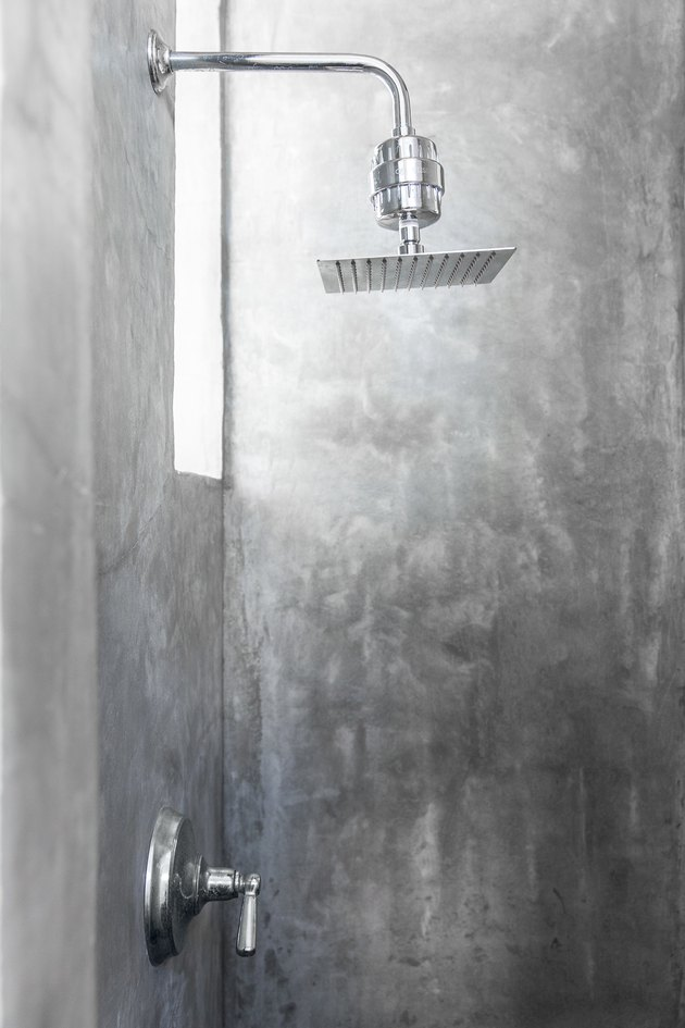 Modern shower and shower head