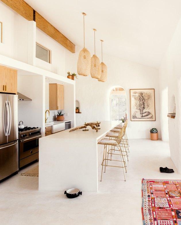 Bohemian California kitchen