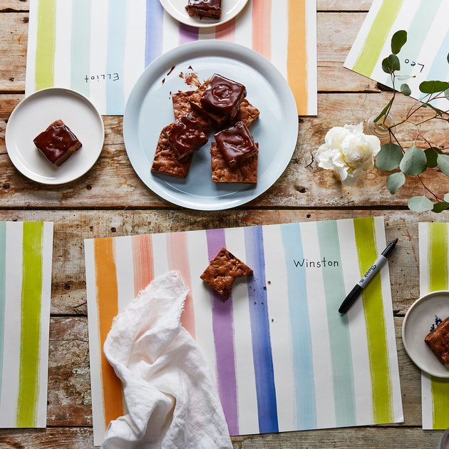 Food52 paper placemats