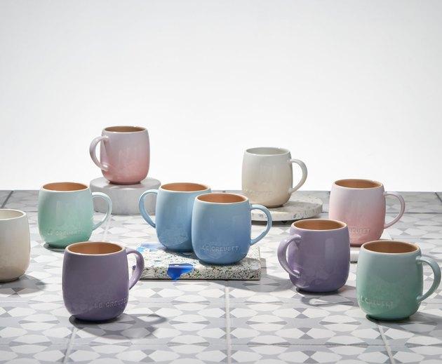 colorful mugs
