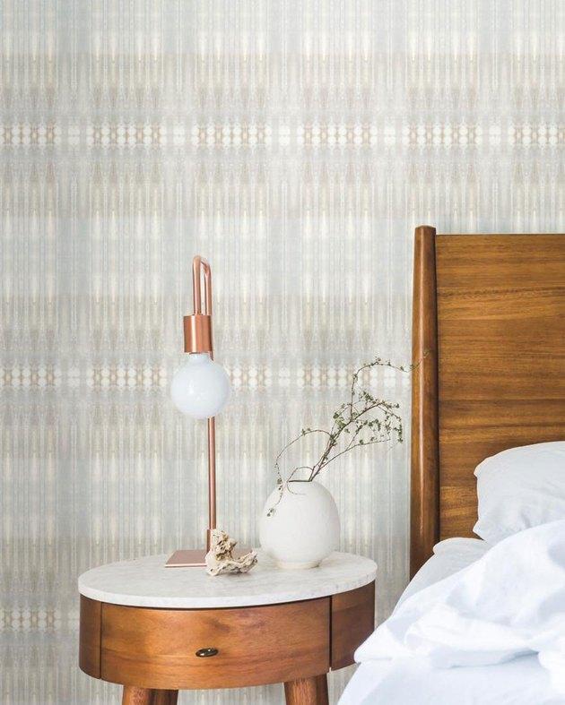 earth toned geometric wallpaper