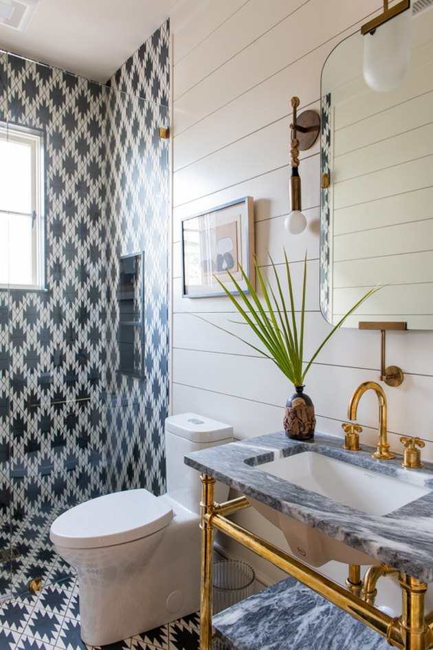 tiled bathroom paint ideas