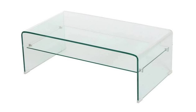 target ramona glass rectangle coffee table
