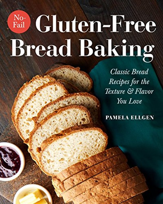 "book titled ""no-fail gluten-free bread baking"""