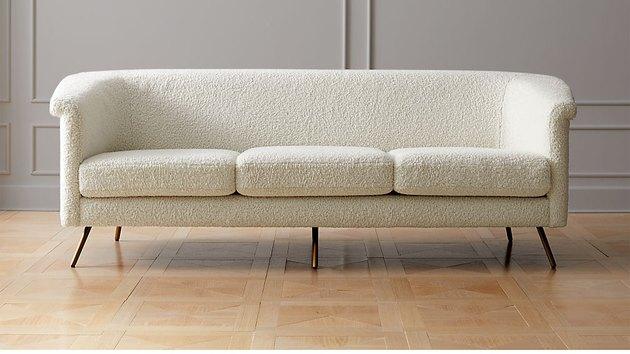 CB2 Vincente Faux Shearling Sofa, $1,499