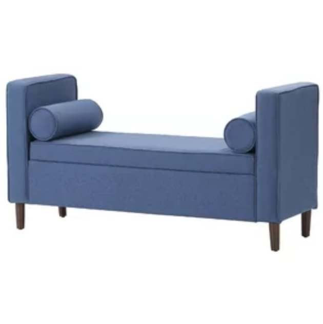 joss and main telesphorus upholstered storage bench