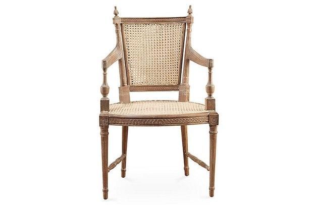 One Kings Lane Hampton Wicker Armchair, $425