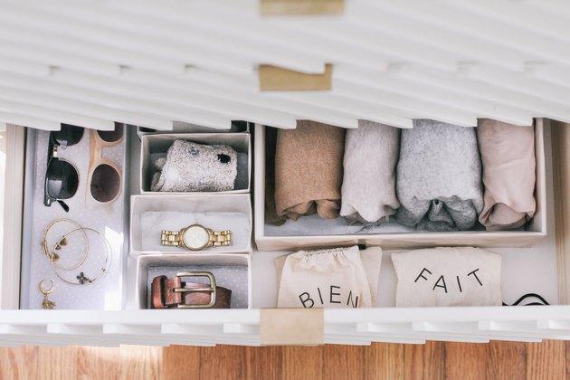 DIY organizational boxes