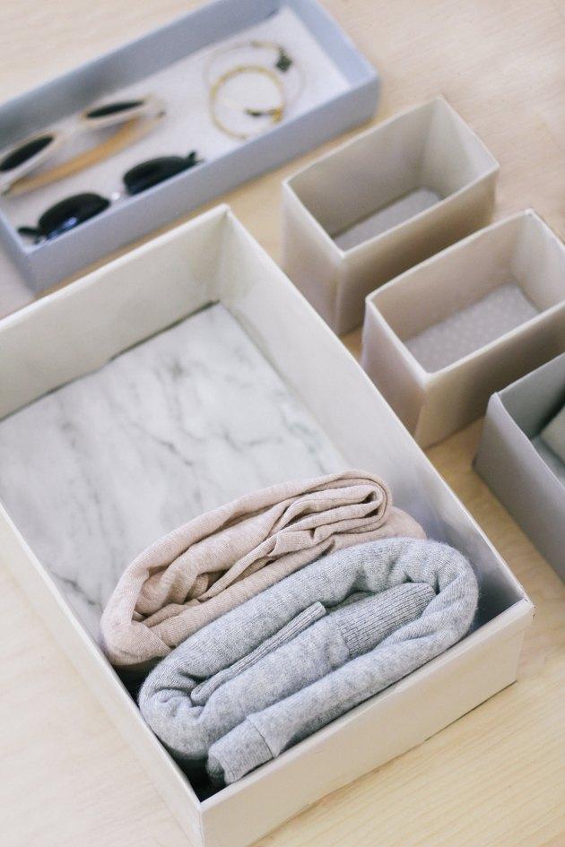 DIY Marie Kondo hikidashi boxes