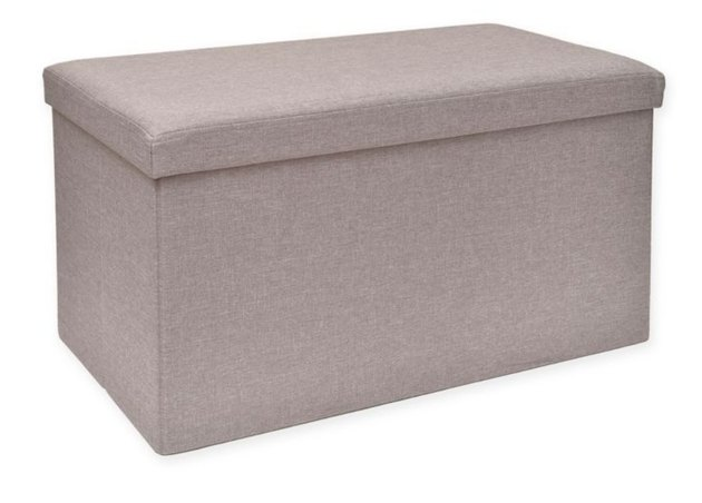 bed bath and beyond folding storage bench with tray