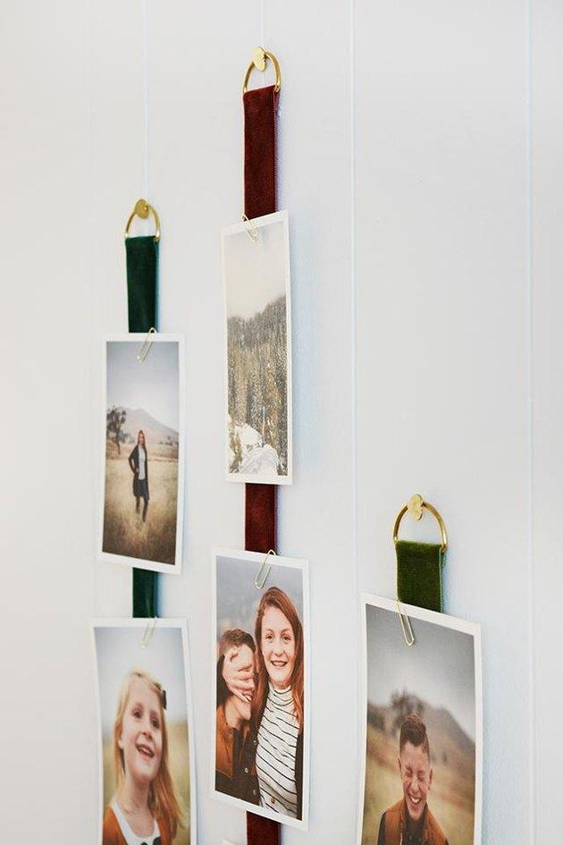 Velvet Ribbon Hanger