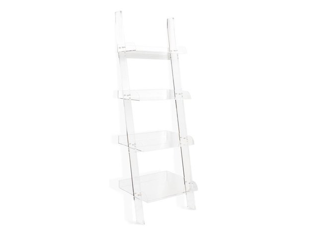 The Everset Clear Leaning Shelf