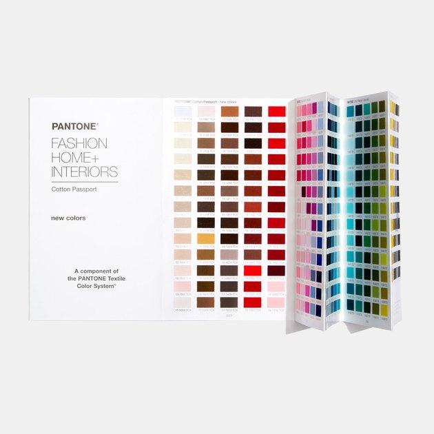pantone cotton swatch book
