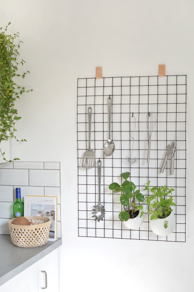 Wire Grid Kitchen Organizers