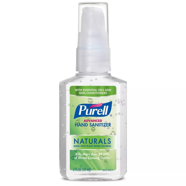 purell bottle of hand sanitizer