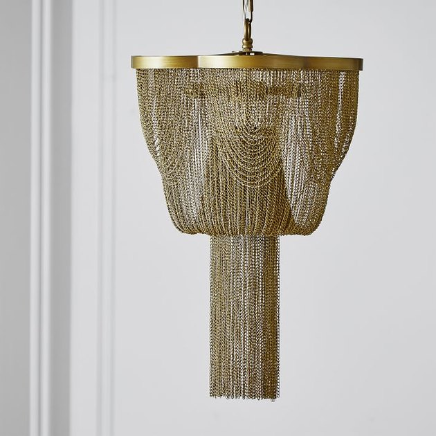 PB Teen Metal Chain Chandelier, $349