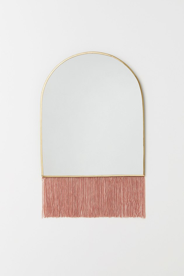 H&M Fringed Mirror, $24.99