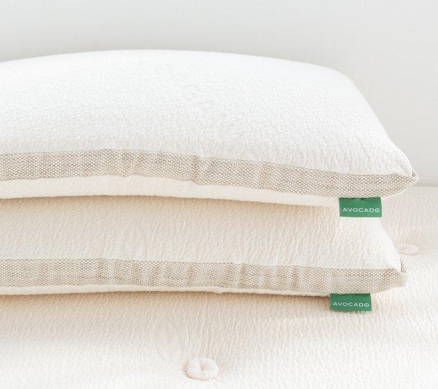 avocado latex pillow