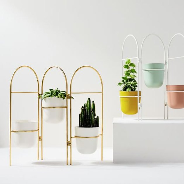 West Elm Portico Standing Planter, $149