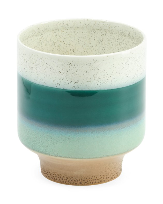 Destinos Ceramic Footed Planter, $16.99