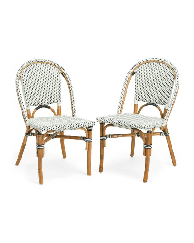J Hunt Home Outdoor Bistro Chairs (set of two), $149.99