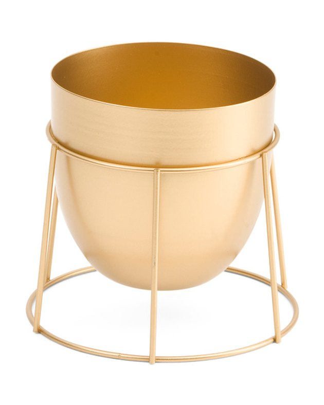 Concepts in Time Metal Cup Planter, $9.99