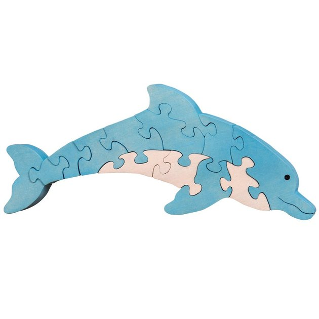 dolphin puzzle for kids