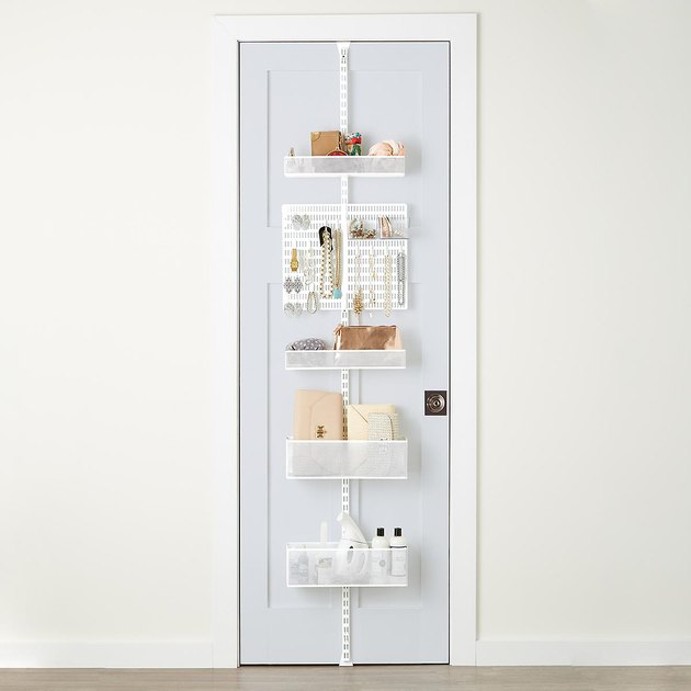 small kitchen storage idea door rack