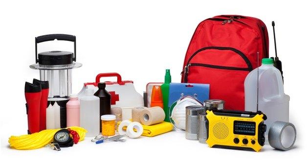 Disaster survival kit.