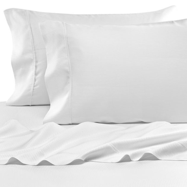 Eucalyptus Origins Tencel Lyocell 500-Thread-Count Stripe Sheet Set